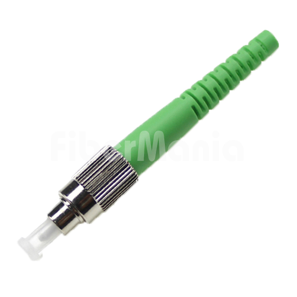 Fc Apc Connector Single Mode Green Housing 2 0mm Boot